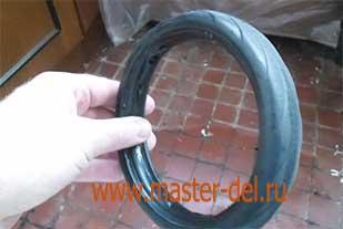 ремонт сумки тележки:сборка сломонного колеса