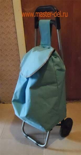 ремонт хозяйственной сумки тележки